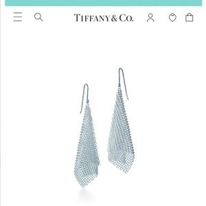 Tiffany & Co. Mesh Scarf Earrings 50% off MSRP
